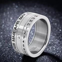 خاتم التاريخ الفضي